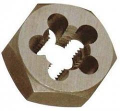 Hexagon Rethreading Dies