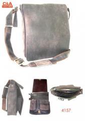 Leather Messenger Bag 4157