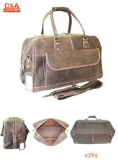 Leather Travel Bag 4296