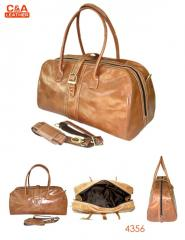 Leather Travel Bag 4356
