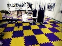 Gym Flooring New