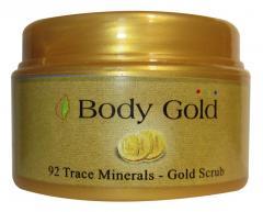 92 Trace Minerals Gold Scrub