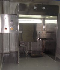 Dispensing / Sampling Booth (Reverse Laminar Air Flow Unit)