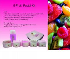 5 Fruit Facial Kit