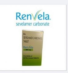 Renvela carbonate 800 mg.Nephrology Drugs.