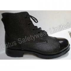 Army Boot With Rubber Sole