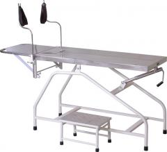 LABOUR TABLE FOOT END FOLDING