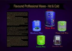 FLAVOURED PROFFESSIONAL WAXES- HOT & COLD