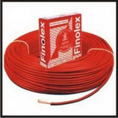 FINOLEX WIRES, 90 MTR, MULTISTAND, 1SQMM RED/BLACK