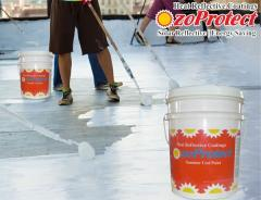 Sun Reflective Roofing Paint