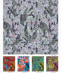 Digital Printed Silk Georgette Fabric for Fashion