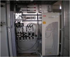 VFD and Soft Starter panels