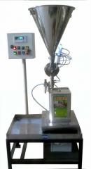 AUTOMATIC PAIL/TIN FILLING MACHINE (LOADCELL BASED)
