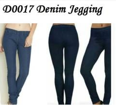 Denim jeggings