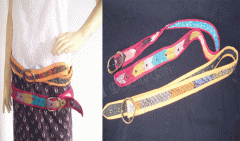COTTON FABRIC BELT