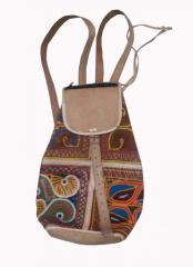 INDIAN HANDMADE LEATHER BAG