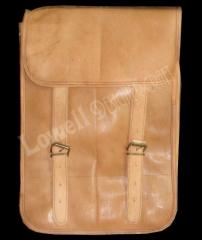LEATHER MESSENGER SHOULDER BAG