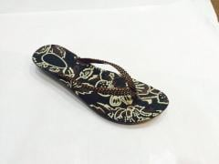 Printed PU Slippers by Smart feet