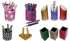 DECORATIVE PEN and HOLDER
