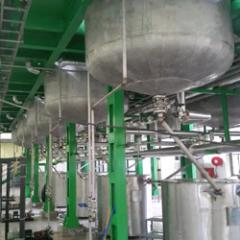 Instant Tea Extraction Plant