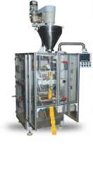 Collar Type Vertical Form Fill And Seal Machine