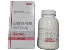Abiraterone Zecyte  250 mg Cipla tablets