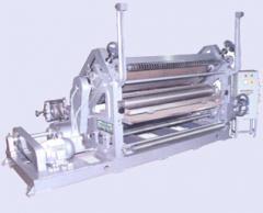 SINGLE FACER PAPER CORRUGATING MACHINE OBLIQUE