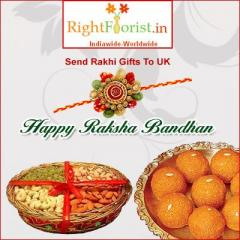 Send Rakhi Thali to UK