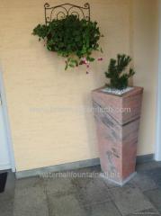 Natural stone planter,granite stone