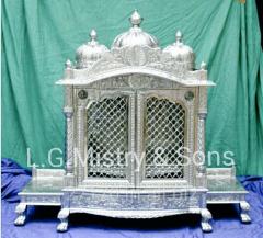 Silver  mandir