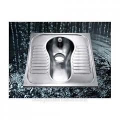 Stainless Steel Squat Pan