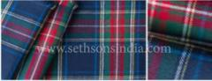 Tartan checks Fabric