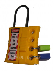 Non Conductive Hasp with 4 holes Shackle thickness