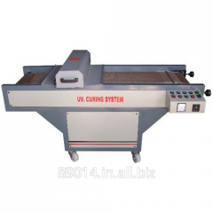 UV Curing System with IR and Hot Air Dryer