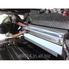 UV Interdeck Attachment on Offset Printing