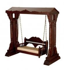 Wooden Carved swing MAHAJA