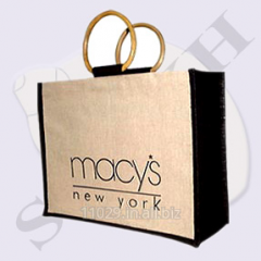 Macy's Cane Handle Promotional Bag
