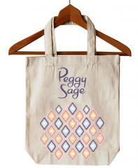 Azo free natural cotton bag