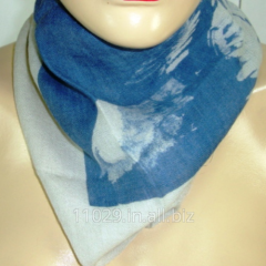 Street Blast Wool Silk Neck Scarf