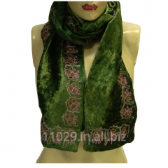 Velvet Silk Neck Scarf