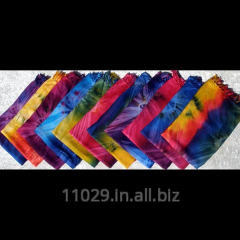 Colorful Hand painted-Tie-Dye pattern Sarongs,