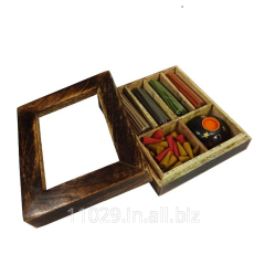 Incense Aroma Wooden Gift Pack