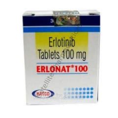 Erlonat Erlotinib 100mg Tablets