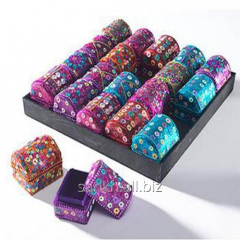 Mini Treasure Glitter & Beads Chest