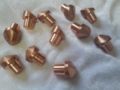 Spot welding electrodes, tips