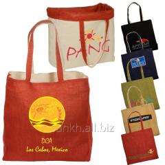 Logotec Reversible Jute/Cotton Tote Bag