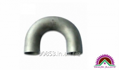 180 DEGREE ELBOW BUTT WELD PIPE FITTING