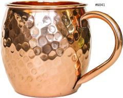 Hammered Copper Mule Mug 16 oz