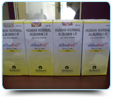 Albumin 20% (100ml) (Albumin Human) Reliance