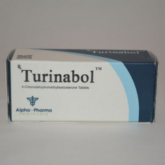 Turinabol Tablets Alpha Pharma Products